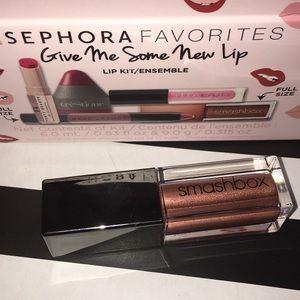 Smashbox Metallic Matte Liquid Lipstick